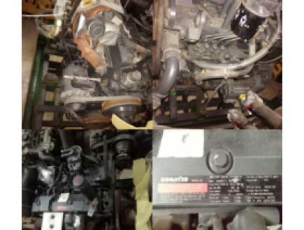 Двигатель в сборе на гусеничный экскаватор KOMATSU PC130-7.