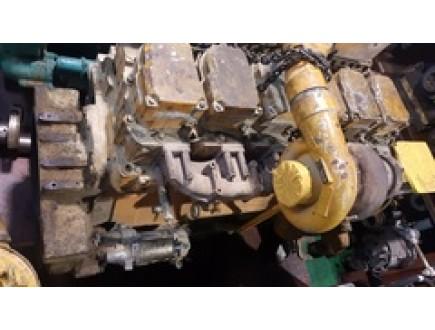 Б/У двигатель к погрузчику KOMATSU 6D140-1