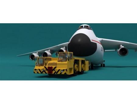 Буксир пассажирского самолета KOMATSU